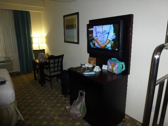 BEST WESTERN PLUS Fort Lauderdale Airport South Inn & Suites: Tv Lcd
