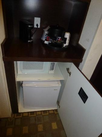 Best Western Plus Fort Lauderdale Airport South Inn & Suites: Refrigerador y microondas