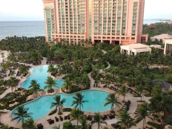 The Reef Atlantis, Autograph Collection: Pool view from 11th floor Ocean Suite
