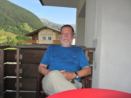 Hotel Acla-Filli: Balcony