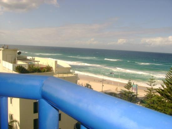 Surf Regency Apartments: view from balcony