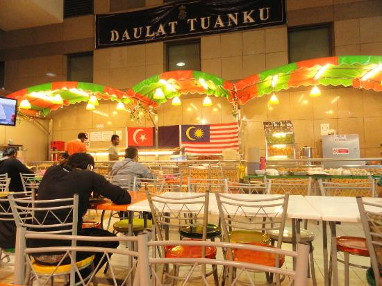 Malayan Railways: Food Court
