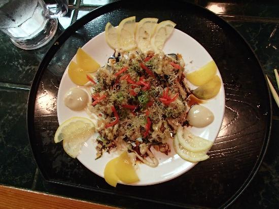 Inakaya Japanese Restaurant: takoyaki (octopus) roll