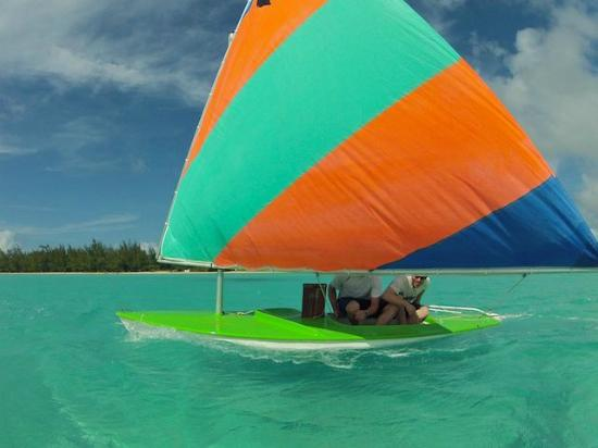 Stella Maris Resort Club: Sailing