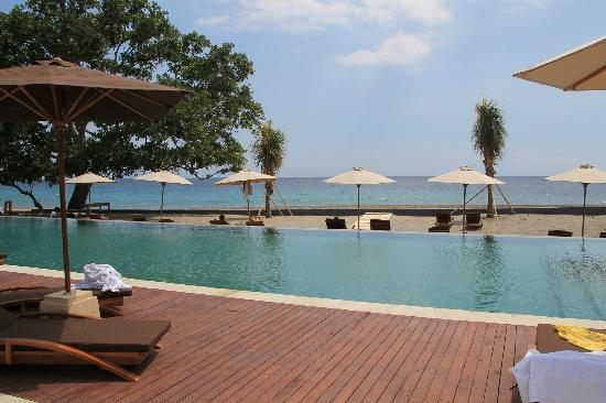 Living Asia Resort and Spa Lombok: Pool/Beach