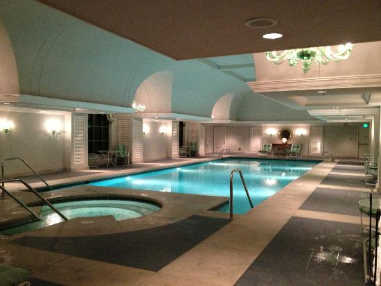 Indoor pool picture of grand america hotel salt lake for Indoor pools in utah