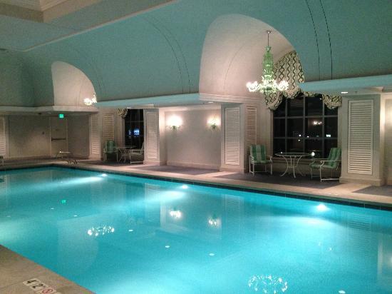 Indoor Pool Picture Of Grand America Hotel Salt Lake City Tripadvisor