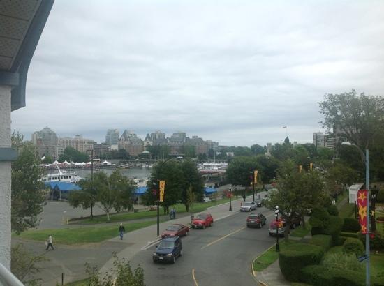 Admiral Inn: view of inner harbor from room on third floor!