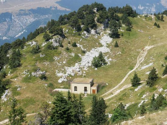 Parc Naturel Regional du Vercors: Abri du Moucherotte (1900m d'altitude)