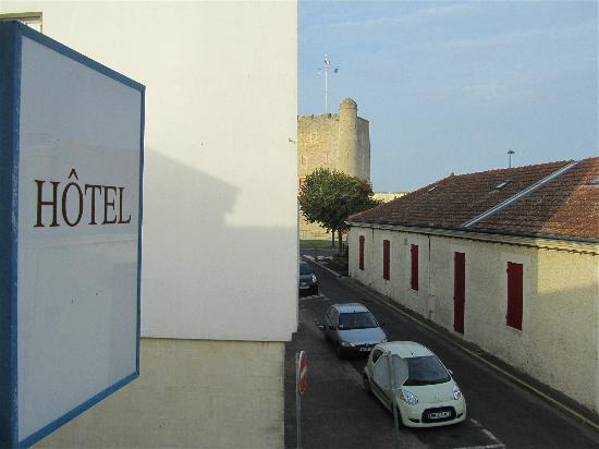 Grand Hotel Des Bains : Le fort Vauban vu de la chambre