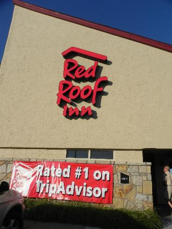 Red Roof Inn Erie: Red Roof Inn is proud of their TripAdvisor status :)