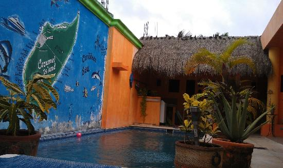 Casita de Maya: View from the entrance