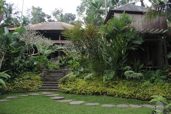 Villa Beji Indah: View from the swimming pool