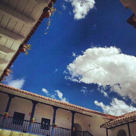 Belmond Palacio Nazarenas: secret garden @ palacio nazarenas.