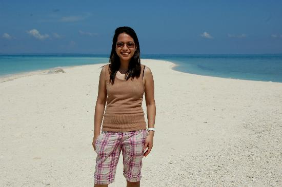 My first visit in Calanggaman Island (from my home town Palompon).