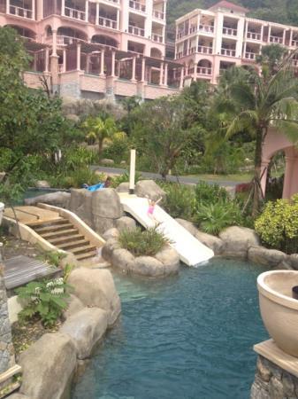 Centara Grand Beach Resort Phuket: one of slides on lazy river