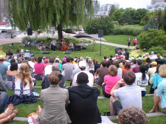 Great Toronto Music Garden: Music Ranges From Classic To Jazz, Storytelling