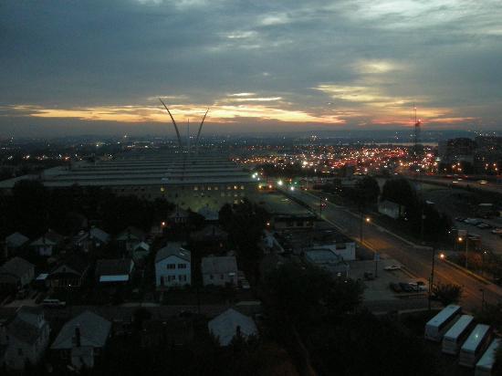 Sheraton Pentagon City Hotel: クラブルームからの眺め