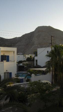 Hotel Kymata: la vista della piscina