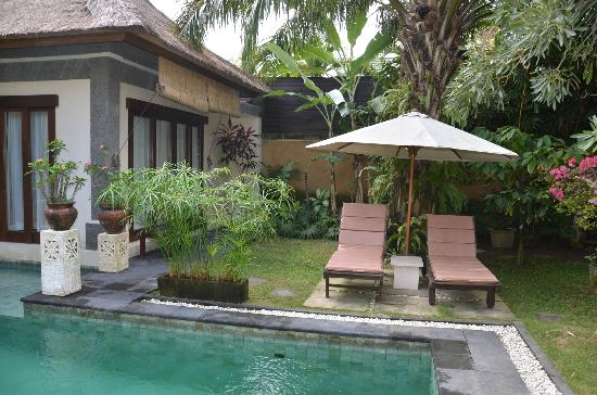 The Buah Bali Villas: Perfect Garden area