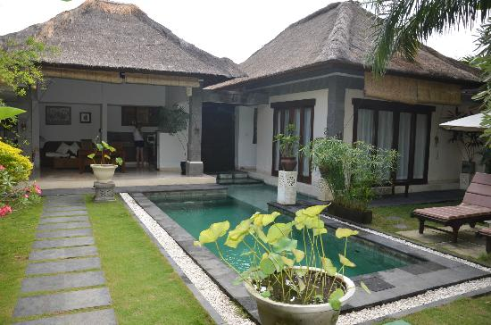 The Buah Bali Villas: I could live here