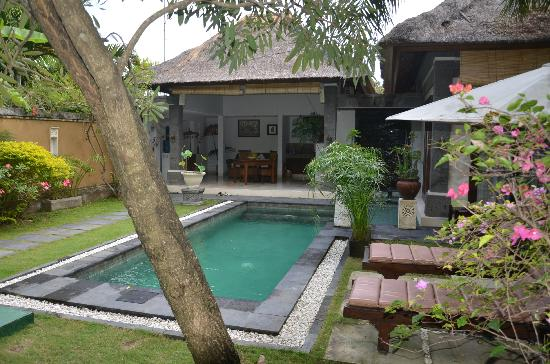 The Buah Bali Villas: Fantastic Garden and very private