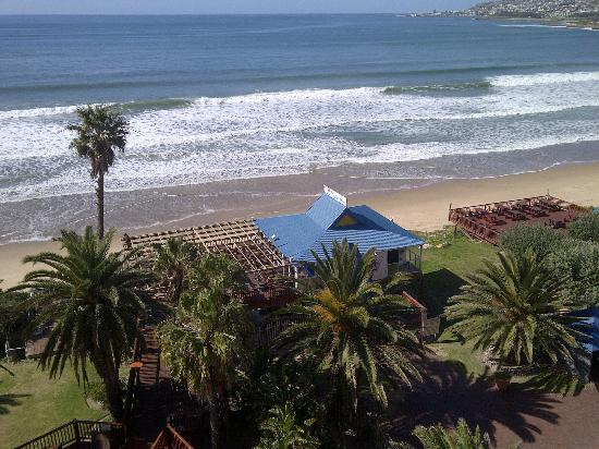 Diaz Hotel & Resort: Mossel Bay Diaz Hotel restaurant and white beach on the doorstep