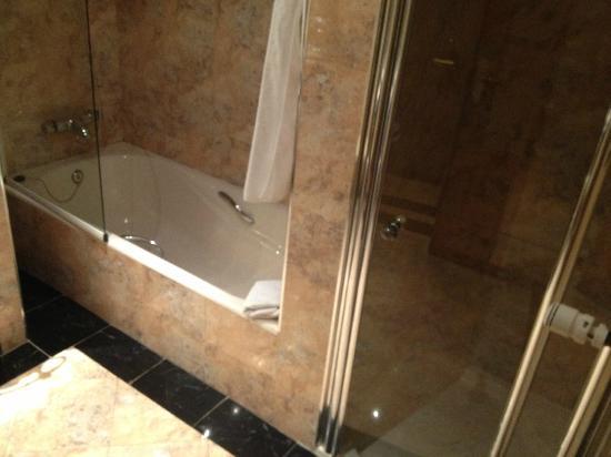 ميليا زاراجوزا: Bañera y ducha 