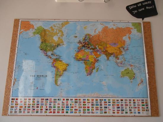 Lisb'on Hostel: Guests from all over the world