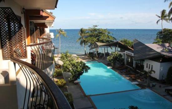 Koh Tao Regal Resort: vista dal balcone della camera