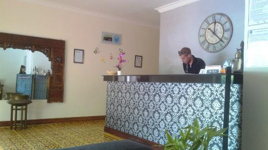 Jasmin Monument Hotel: Reception