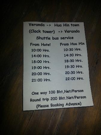 Veranda Resort and Spa Hua Hin Cha Am - MGallery Collection: The ridiculous shuttle service