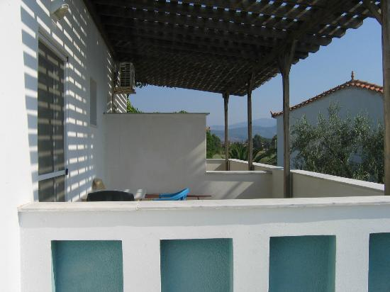 Malemi Organic Hotel: My terrace
