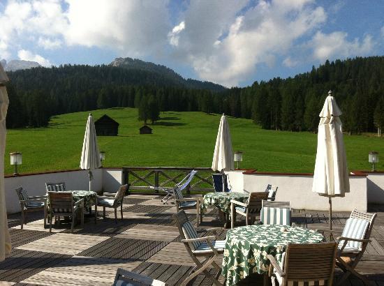 Hotel Gran Ancei: Terrazza panoramica