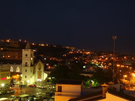 Hotel Maria Cristina: di notte sulla terrazza