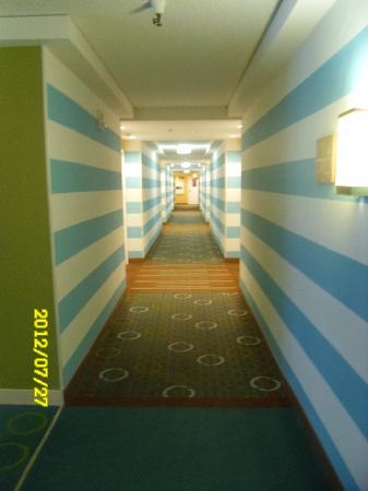 Sheraton Fisherman's Wharf Hotel: Hallway