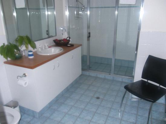 Ochre Moon B&B : The adjoining bathroom