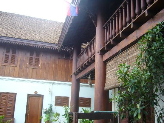 Villa Pumalin: vue de la facade