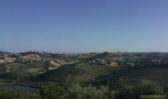 Mosciano, Italien: Panorama camera