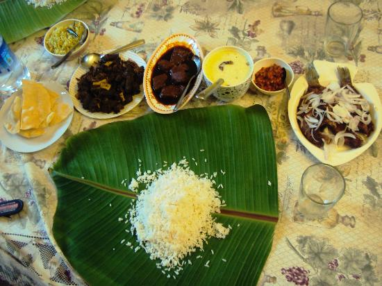 Coconut Creek Farm and Homestay Kumarakom: Lunch @ Homestay