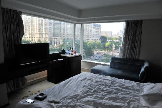 Wangfujing Ocean Hotel : A room with a view.