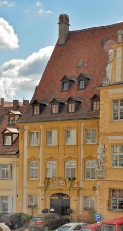 Barock Hotel am Dom: Blick auf das Hotel
