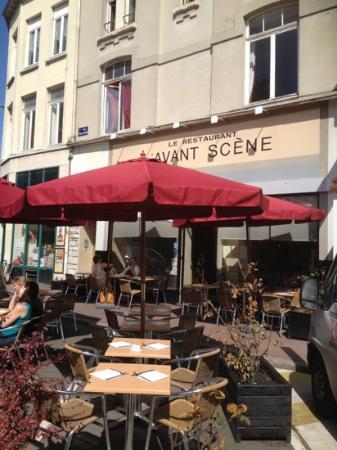 L'Avant Scene: la terrasse l été