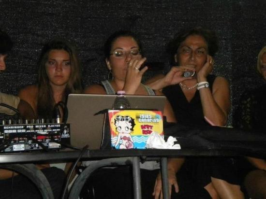Parco La Conchiglia: karaoke alla conchiglia