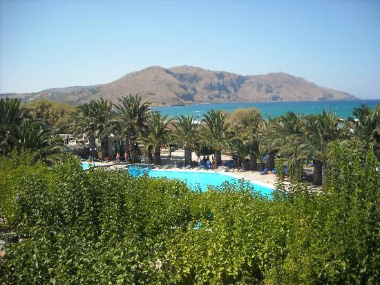 Mare Monte Beach Hotel: vue mer de la chambre