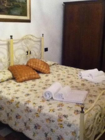 """Soggiorno l'Italia: Questa è la camera """"Serena"""" dove ho alloggiato insieme alla mia compagna: bellissima :-)"""