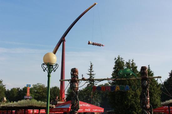 Парк аттракционов Диво Остров: ракета