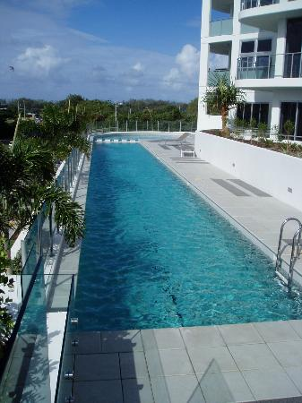 Silver Sea on Sixth: 25m Heated Lap Pool with Lagoon pool in distance