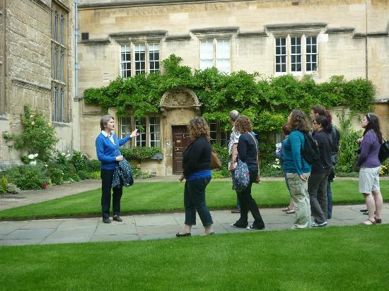 Experience Oxfordshire: Jesus College
