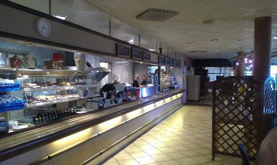 Gotastroms Vardshus: Restaurant